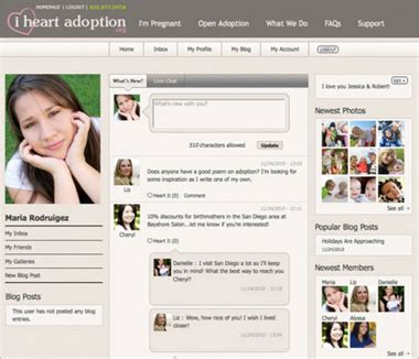 theme drupal social network iheartadoption org educational and social networking
