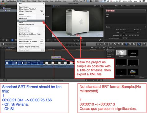 final cut pro add subtitles how to add subtitles to video in final cut pro images