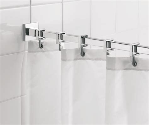 Small Radiators For Bathrooms - croydex luxury square shower curtain rod ad116441