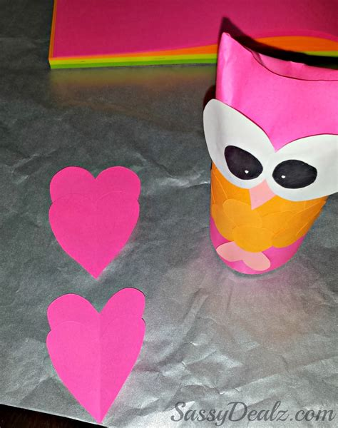 Free Toilet Paper Roll Crafts - diy owl toilet paper roll craft for crafty morning