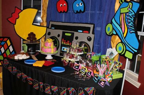 80s Theme Decorations 80s decoration 80s partyyy food