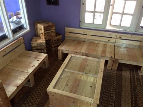 Build Living Room Furniture Pallet Living Room Furniture Set