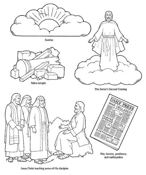 coloring page jesus coming again 514 best images about religio on pentecost