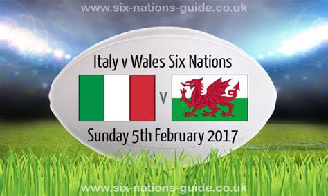 Jp Early Advantage Mba 2017 by Italy 7 33 Wales Six Nations 5 Feb 2017