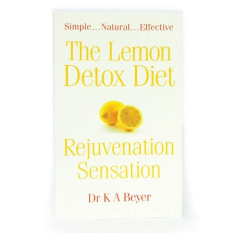 Detox Book Cover by Lemon Detox Book Slimming Solutions