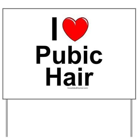 pubic hair of the 90s pubic hair yard sign by iloveadulthumor