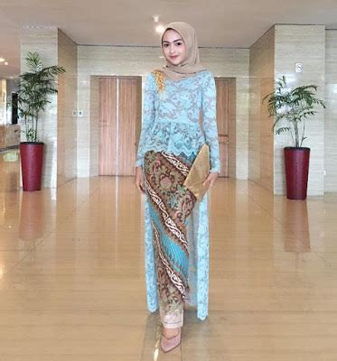 baju wisuda wanita kebaya wisuda olla motif bunga lengan pendek 80 model kebaya modern batik terpopuler 2018 model baju