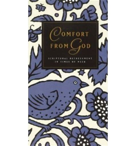 comfort from god comfort from god questar publishers 9781576730058