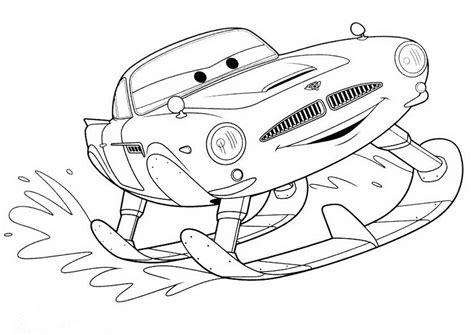 cars 2 finn mcmissile coloring pages cars coloring pages free printable 476110 disney cars