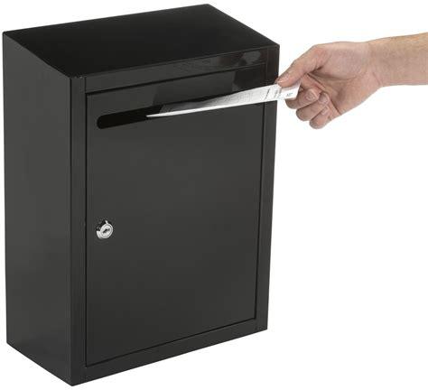 Open Suggestion by Black Suggestion Lockbox Hinged Door