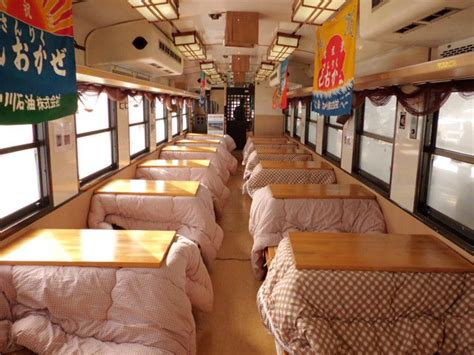 japanese kotatsu kotatsu train