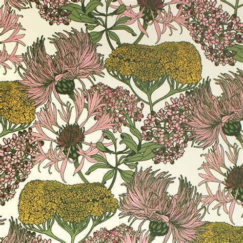 illustrator pattern nature hello yarrow natural wallpaper abigail borg surface