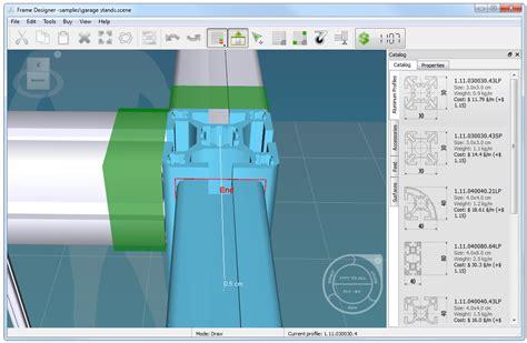 photo frame design software 3d software for designing aluminum t slotted framing project