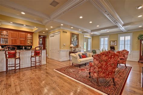 the living room has 10 foot ceilings oak hardwood floors summer place farms 2 499 900 south sound luxury homes