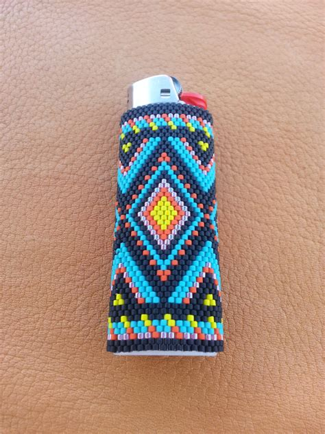how to make beaded lighter covers beaded bic lighter cover american design