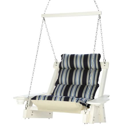 head swing durawood single cushioned swing