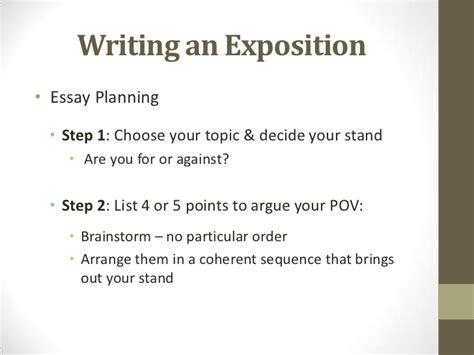 How To Write An Expository Essay Step By Step by How To Write An Expository Essay Step By Step