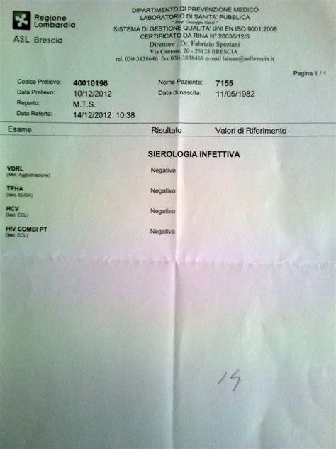 risultati test hiv test hiv lo fate page 20