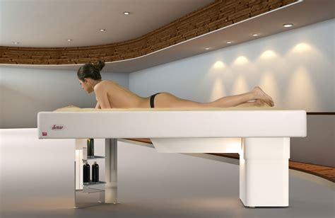 massaging bed invented for beauty the multifunctional water massage