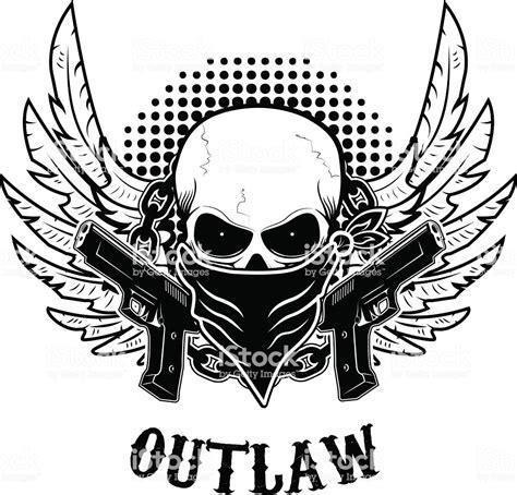 Tshirt Harley Eagle Dagger outlaw tshirt print design template skull with two guns