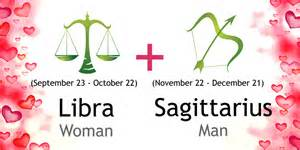 libra woman and sagittarius man love compatibility ask