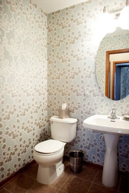 Bathroom Wallpaper Modern Modern Bathroom Design And Decorating With Wallpaper