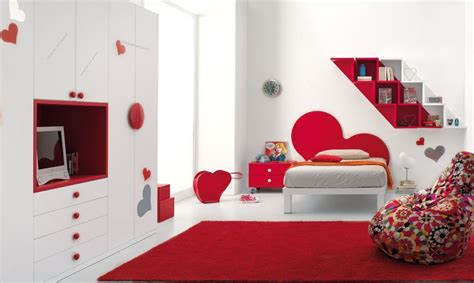 red and white bedroom red bedrooms