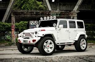 White Jeep Wrangler 4 Door Jeep Wrangler 2015 White 4 Door Desktop Wallpapers All