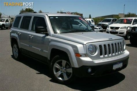 Jeep Patriot 4x4 For Sale 2013 Jeep Patriot Limited 4x4 Mk My14 4d Wagon For Sale
