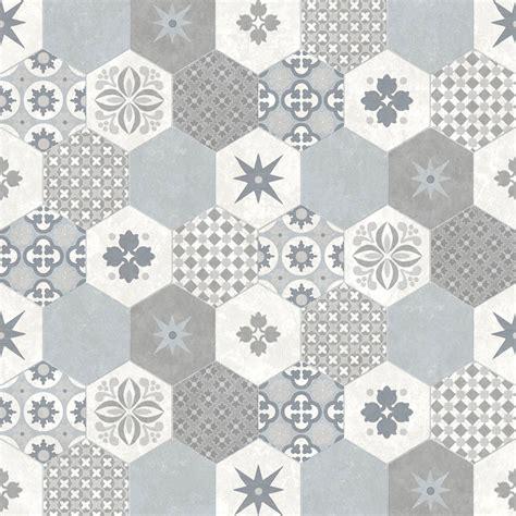 Patchwork Wall Tiles - modern wallpaper patchwork tiles muriva l4050 murivamuriva