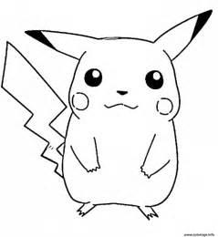 coloriage pikachu free46ba jecolorie