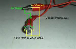 do it yourself s to rca composite cable adapter suhas tech