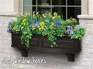 vinyl window boxes plastic window boxes vinyl flower