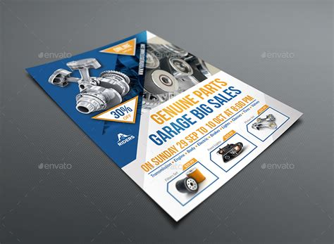 Auto Parts Flyer Templates auto parts flyer template by owpictures graphicriver