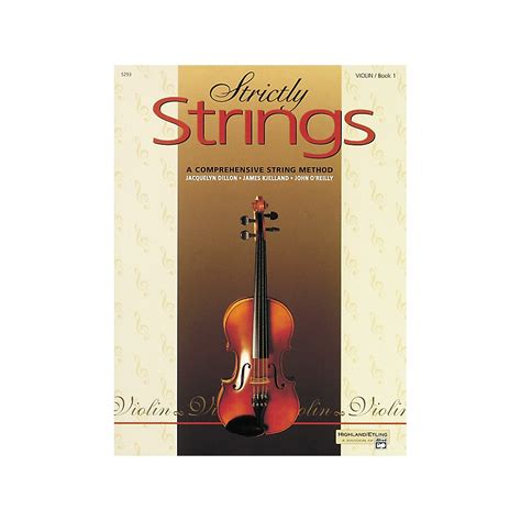 String Book - alfred strictly strings violin book 1 ebay
