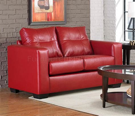 Red Vinyl Sofa Grandiose Red Vinyl Chesterfield Tufted