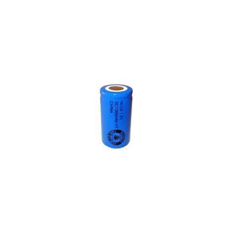 Motorrad Batterie 9v by Batterie Nicd Sub C 1300 Mah Flachkopfbatterie 1 2v