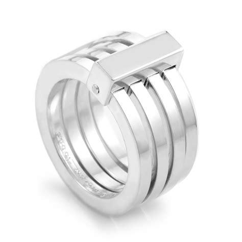 gucci sterling silver multi band ring 06201040984006 ebay
