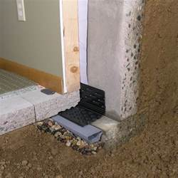 waterproofing a basement floor drain eze basement waterproofing footing system