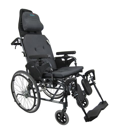 Reclining Back Wheelchairs Recliner Manual Wheelchair