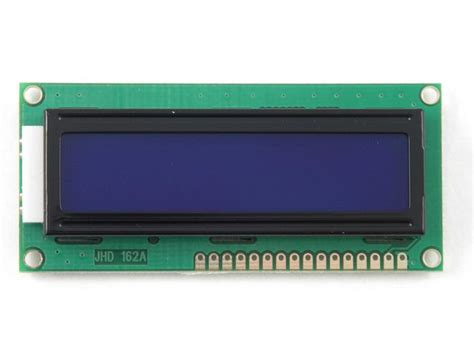 Lcd Arduino 2x16 buy lcd 2x16 char jhd162a stn blue white led at the right price electrokit