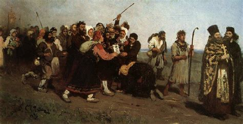 Modern Country Style religious procession 1877 ilya repin wikiart org