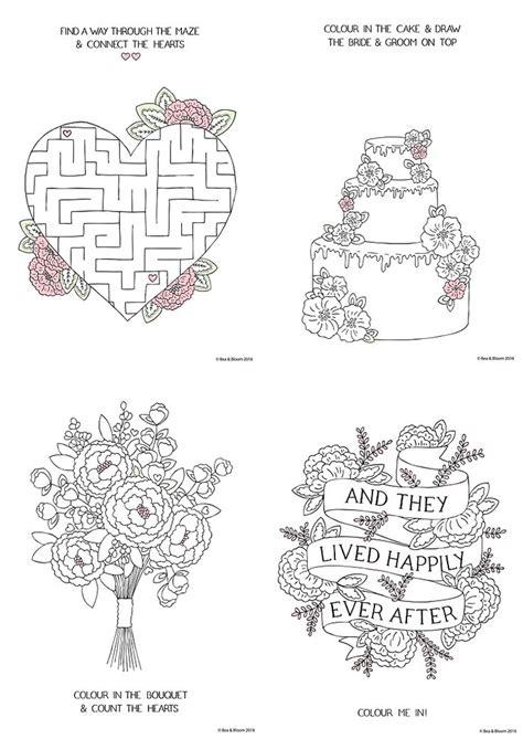 69 Best Wedding Activity Book Images On Pinterest | best 25 kids wedding activities ideas on pinterest