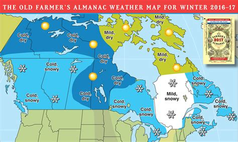 canada weather forecast map weather predictions for the 2016 2017 snowmobiling season