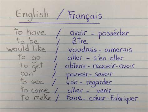 comment traduire pattern en francais des verbes en images