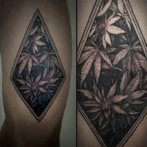 tattoo design weed relaxing dotwork by stefano oldrini swed pinterest