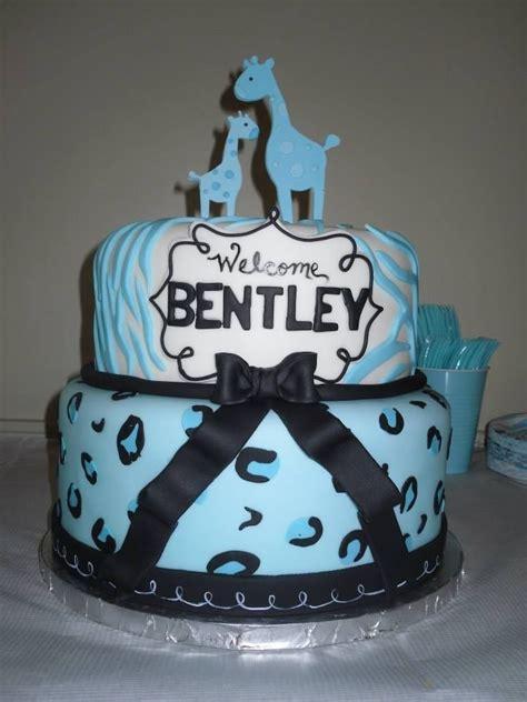 Blue Safari Baby Shower Cake by Blue Safari Theme Baby Shower By Cake Me Away Cakery Www
