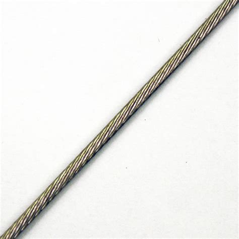 1 X 19 Stainless Steel Cable by Stainless Steel Cable 1 16 Quot Ss 1 X 19 Uncoated Sold Per