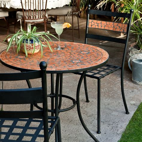 Fabulous Small Patio Table And Chairs Black Rattan Garden