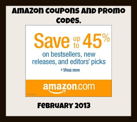 amazon discount amazon promotional codes amazon promotional codes 2013